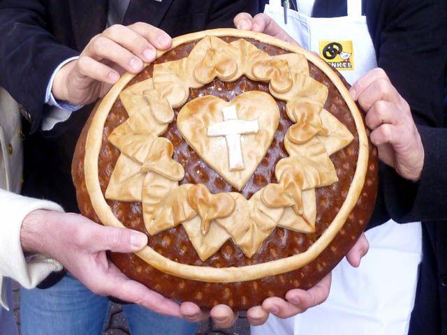 Bäckerei Hinkel , Düsseldorf - Die Luther-Rose, Zum Reformationstag