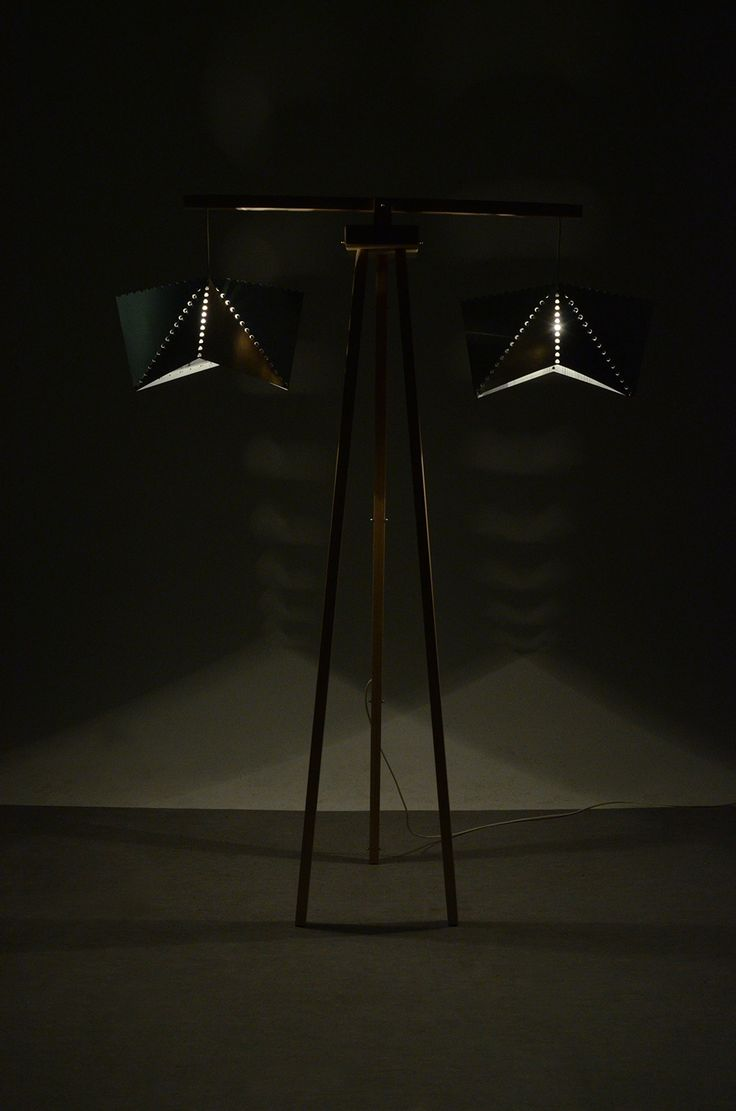°°°floor lamp Alu on Behance