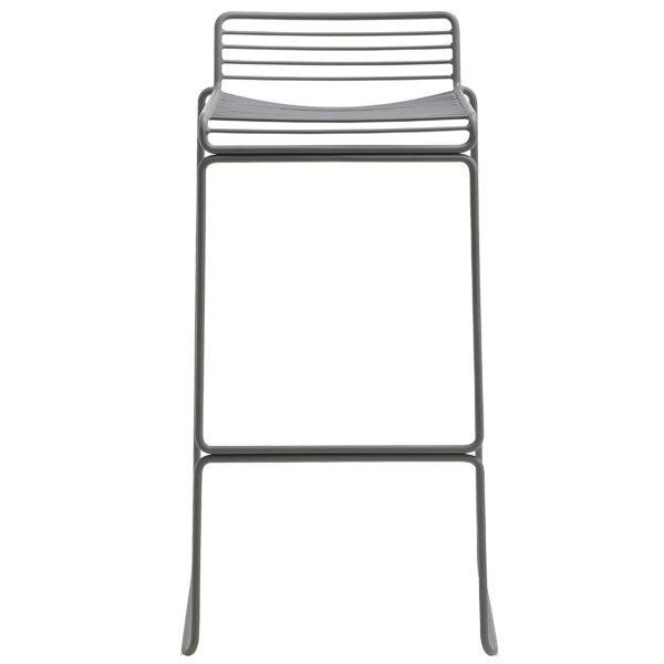 Hee bar chair, grey