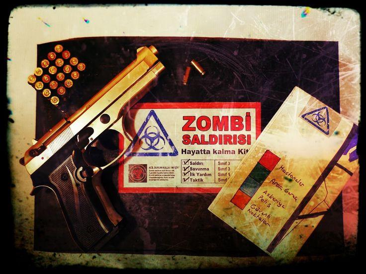 Zombi Saldırısı Hayatta Kalma Kiti | (Doğal Afet Hayatta Kalma Kiti)