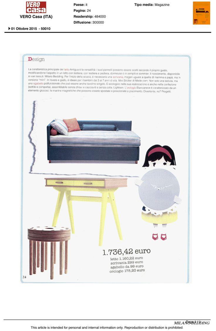 Antigua #bed on Vero Casa, October issue