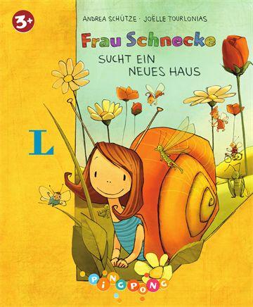"""Rezension Kinderbuch: """"Frau Schnecke sucht ein neues Haus"""""""