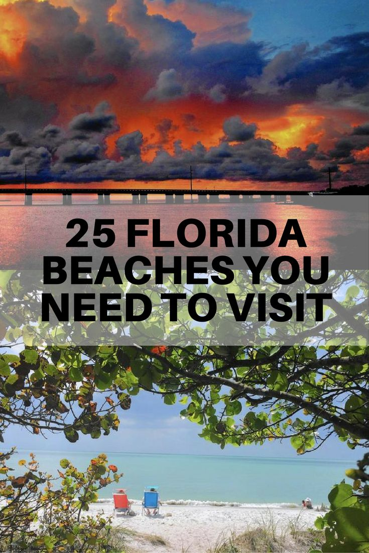 The 25 Florida beaches you need to visit once in your life