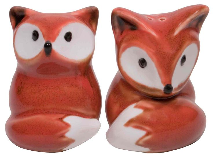 Salt & Pepper Shaker Set Foxy