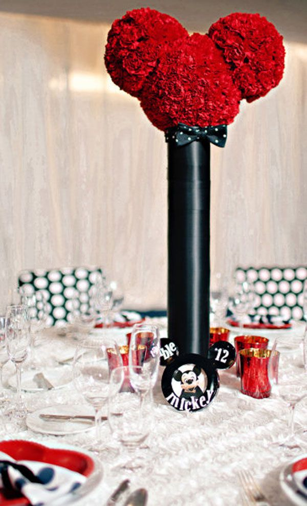 elegant mickey centerpieces | Mickey Mouse Party Inspiration | OCCASIONS