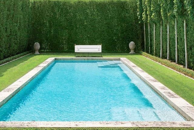 """250 Likes, 9 Comments - Nicolas & Charlotte Horsch (@horschinteriors) on Instagram: """"pool goals! this is just To The left of The Beautiful smaller House with the antique portico posted…"""""""
