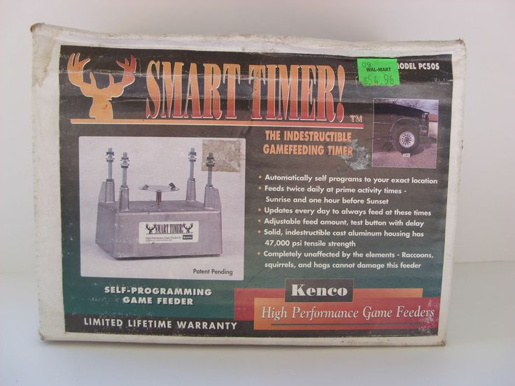 Kenco Smart Timer Self Programming Automatic Game Feeder