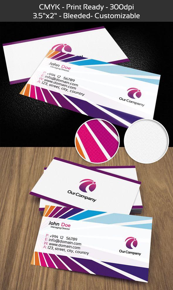 Free Premium Business Card Design PSD