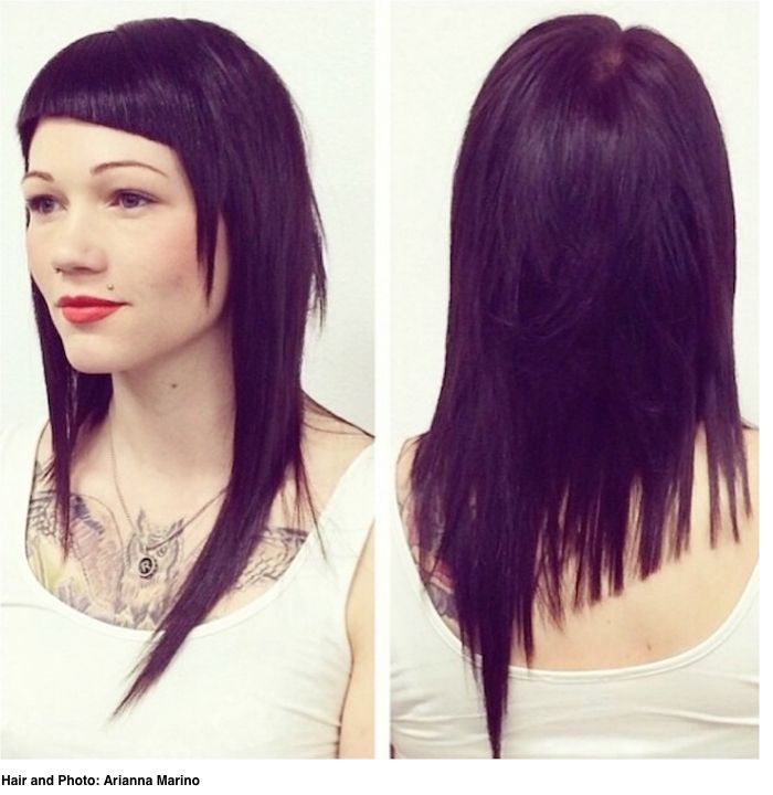 Asymmetry: It's Not Just For Short Hair | StyleNoted