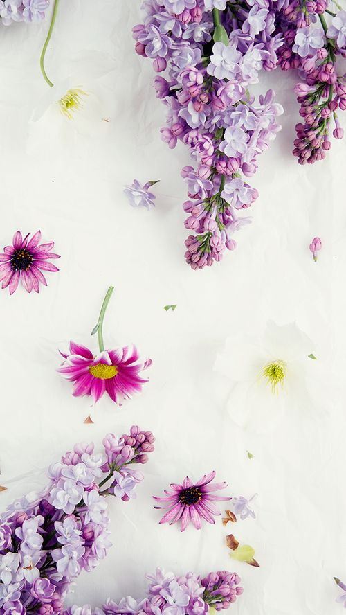 Floral phone wallpaper