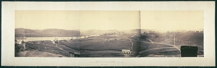 Knoxville, Tenn., view from the cupola of University of East Tennessee, March 19th, 1864