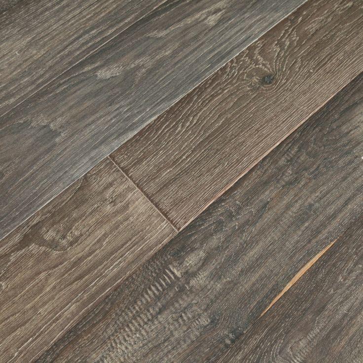 Vintage Ebony Engineered Wood Floors Prefinished