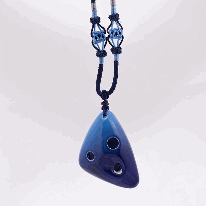 how to make a clay pendant ocarina