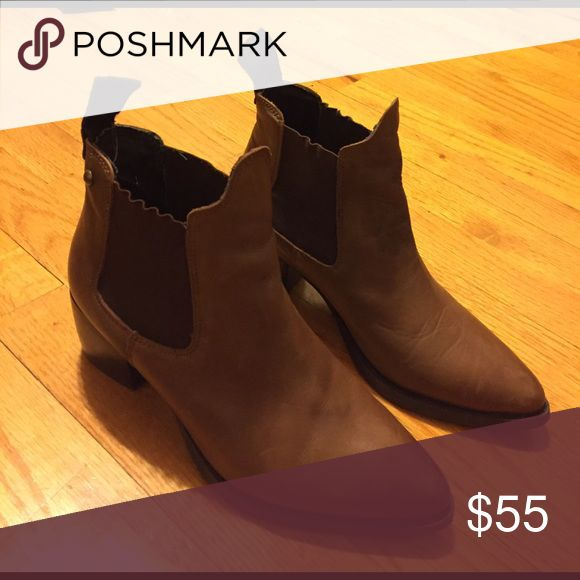 Topshop boots Very comfortable. Good condition! Topshop Shoes Ankle Boots & Booties