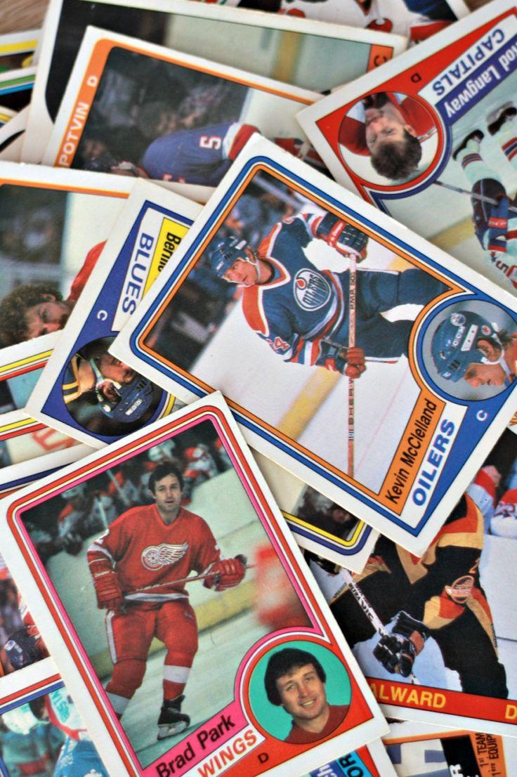 Carte d'hockey 1986 lots de 55, Carte hockey vintage, Carte sport, Cadeau de sport, O-Pee Chee, Cadeau hockey, Red Wings de Detroit de la boutique PastelEtPixel sur Etsy