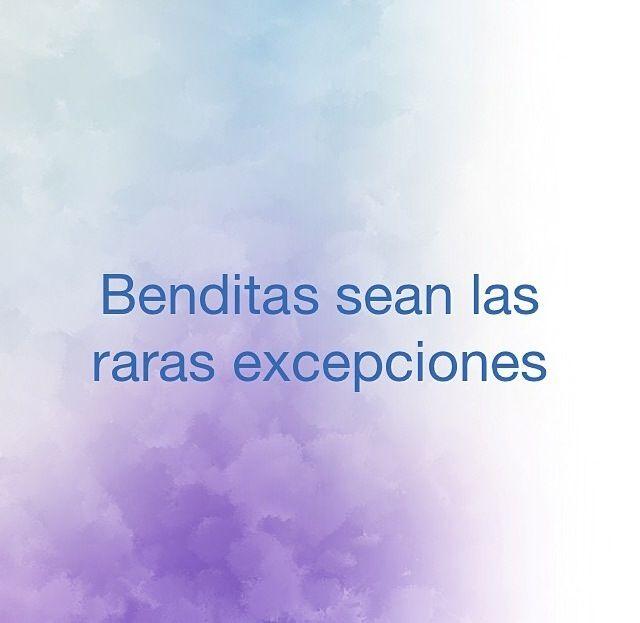 Benditas sean las raras excepciones. #frases #citas #JoaquínSabina