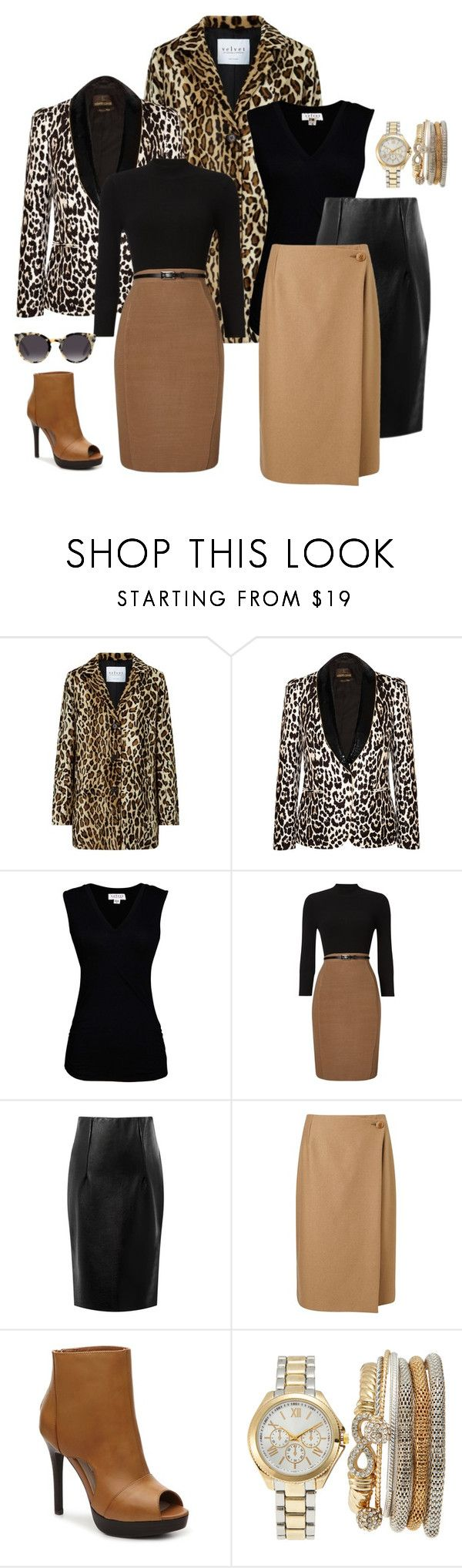 """two outfits for the price of one"" by shays22 ❤ liked on Polyvore featuring Velvet, Roberto Cavalli, Velvet by Graham & Spencer, Phase Eight, Jigsaw, Two Lips and Jessica Carlyle"