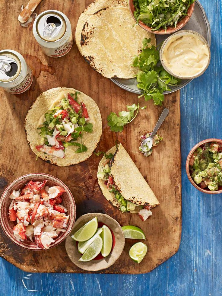Maine Lobster Tacos with Pico de Gallo and Lemongrass Dressing | Maine Lobster Marketing Collaborative