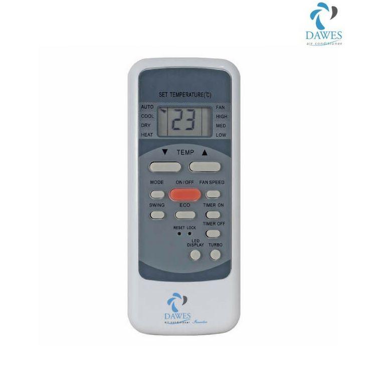 Desea cambiar su aire acondicionado eléctrico de refrigeración a calefacción o calefacción a refrigeración? Aquí está el control remoto de Dawes para los diferentes modos de operación.