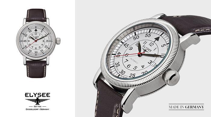 Zegarek Ilos Elysee z kolekcji Executive. Sprawdź, gdzie można kupić nasze zegarki: http://bit.ly/Sklepy_Elysee