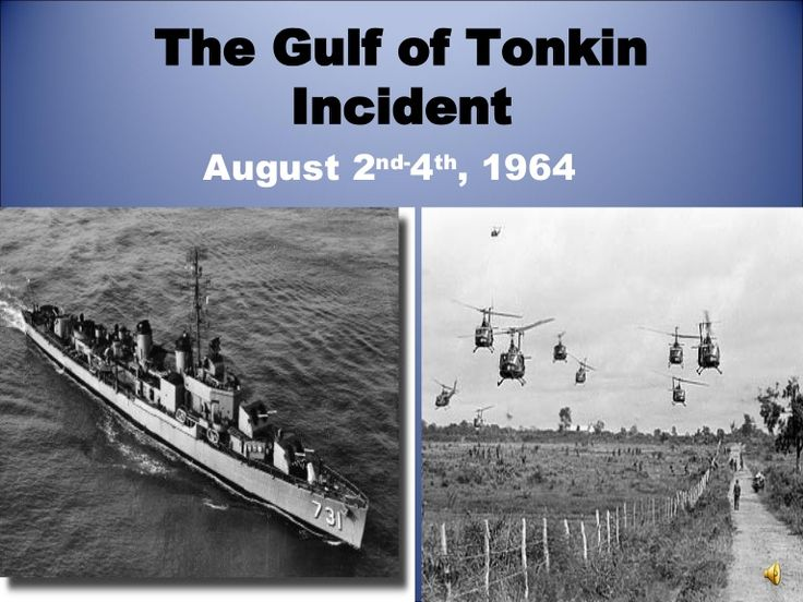 The Gulf of Tonkin Incident, 50 Years Ago