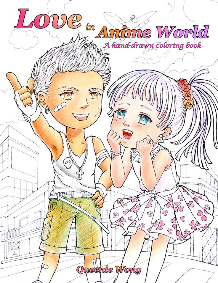Hello!I have not posted for a while coz I am quite busy working on lots of drawings.I finally got my new coloring book released on Amazon today!Name:  Love in Anime World - A hand-drawn coloring book  by Queenie WongIt is on sale NOW only $ for a short period of time. Get it before price goes back t