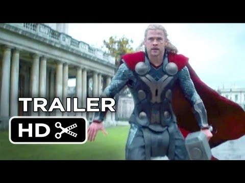 """Thor: The Dark World Official Trailer #2 (2013) - Chris Hemsworth Movie HD The end is the best!!!!!!!!!!! And the """"I like her"""" line! Can I smack Loki? I want him to like ME!"""