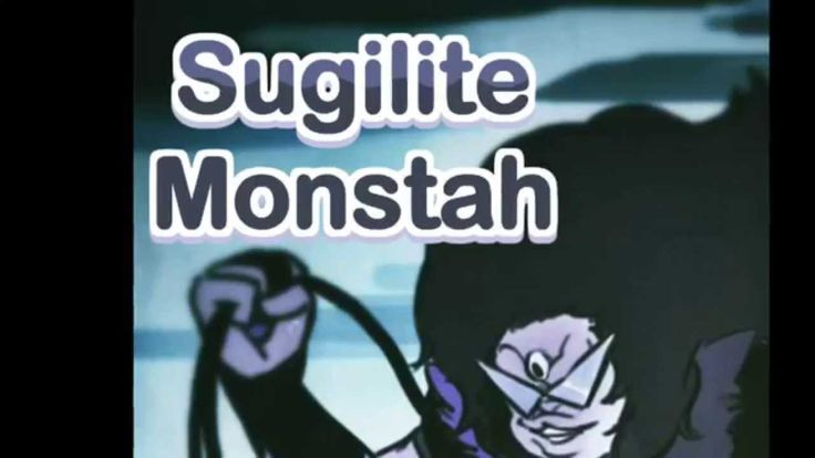 Sugilite Monstah (Nicki Minaj and Steven Universe Mashup)--I don't normally listen to Nicki Minaj (tho she does have a few good songs here and there), I never knew she voiced Sugilite!