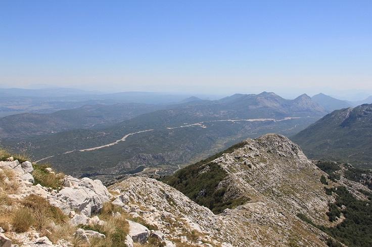 The hill of Sv Jure in Nature Park Biokovo in Croatia #croatia #chorwacja #biokovo #svjure