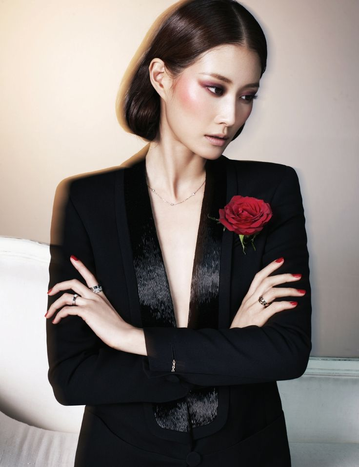 Model: Hyun Yi, Fashion Models, Harpers Bazaar, Bazaar Korea, Lee Hyun, February 2013, Korea February, Asian