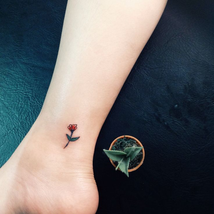 Little flower Tattoo #smalltattoo