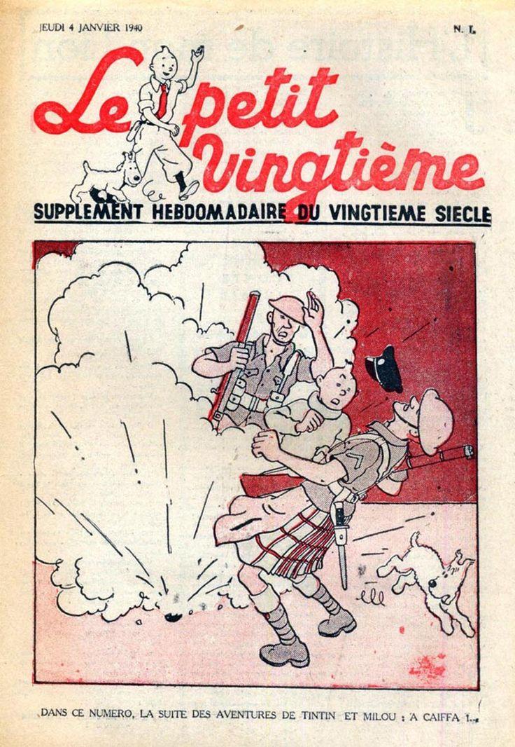 A Caiffa !... - Tintin au pays de l'or noir