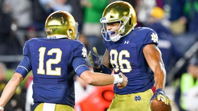 Notre Dame Vs Virginia Tech Odds Line 2018 College Football
