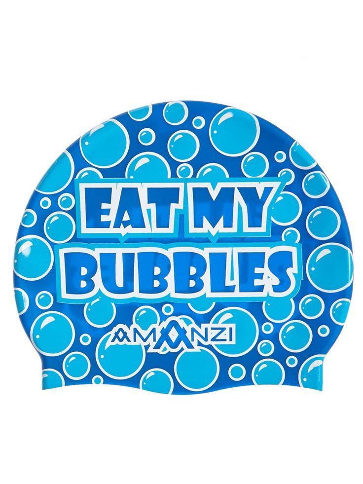 Eat My Bubbles Swim Cap