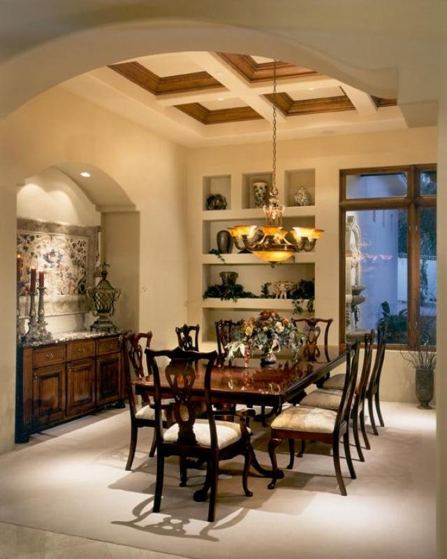 Mediterranean Style Dining Room Sets: 17 Best Images About Inside Mediterranean Homes On