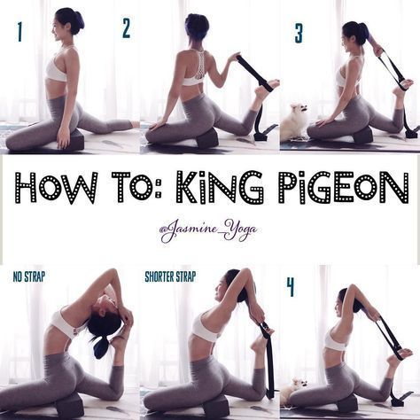 king pigeon  working with the strap really helps in