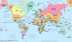Image result for political world map download pdf