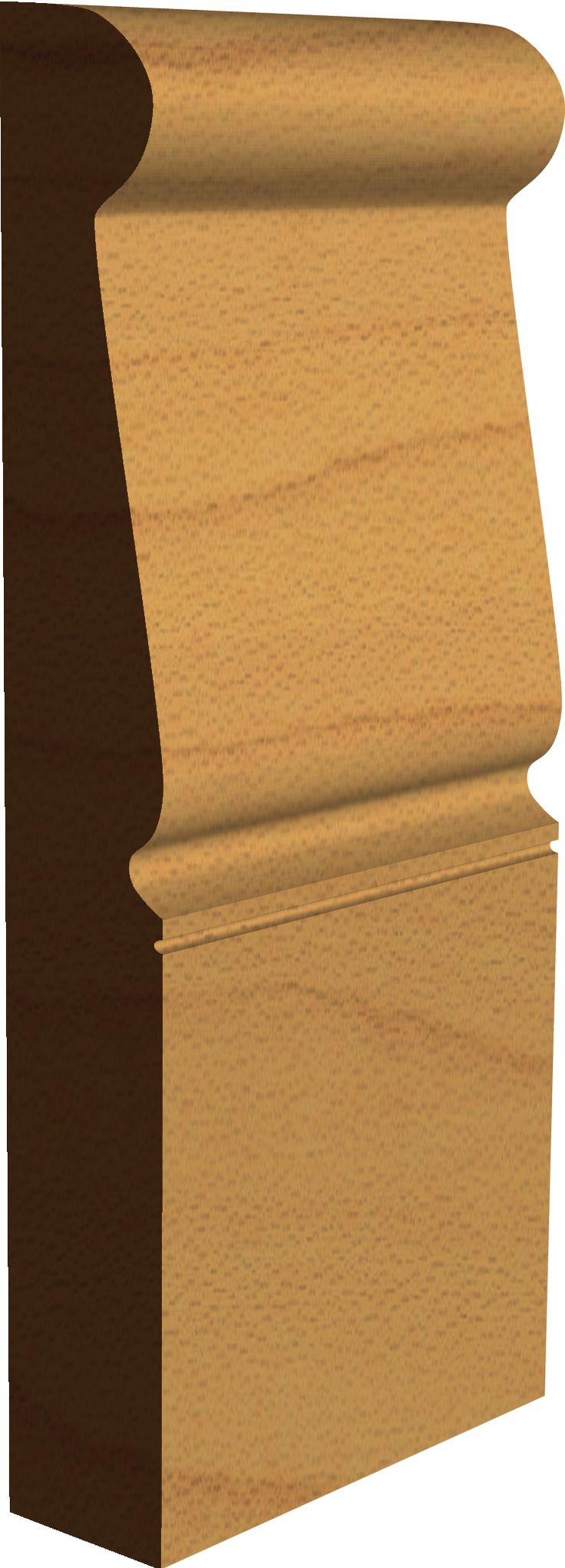 Georgian 'Brompton' Skirting Board Profile  Made by Period Mouldings  www.periodmouldings.co.uk