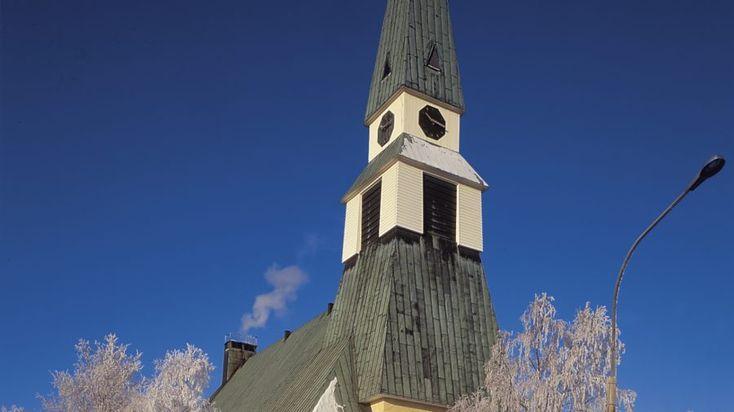 Rovaniemi Church -Rovaniemi, Lapland, Finland