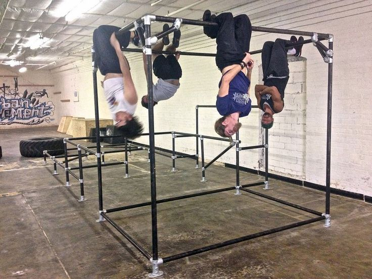 Images about indoor parkour and gym ideas on