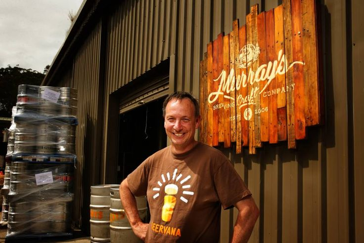 CRAFT MASTER: Murray's Craft Brewing Co's founding brewer Graeme Mahy is back at the Port Stephens brewery.  Picture:  Peter Stoop