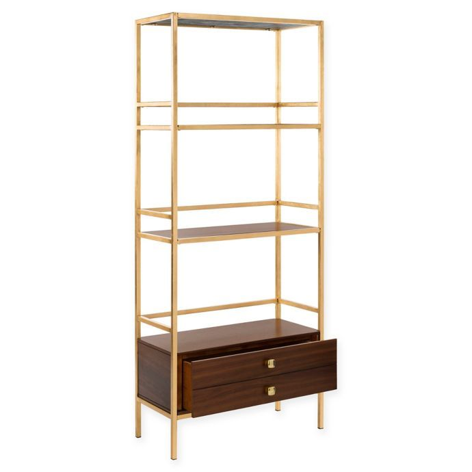 Safavieh Mateo 4 Tier 1 Drawer Etagere Bed Bath Beyond