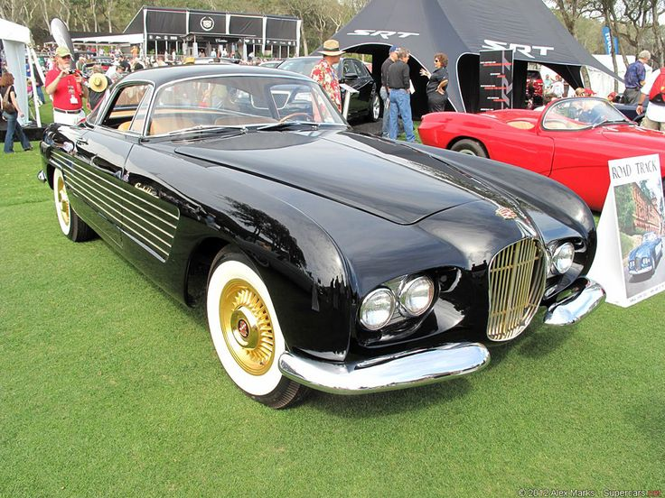 ❦ SUPERCARS.NET - Image Gallery for 1953 Cadillac Series 62 Ghia Coupe