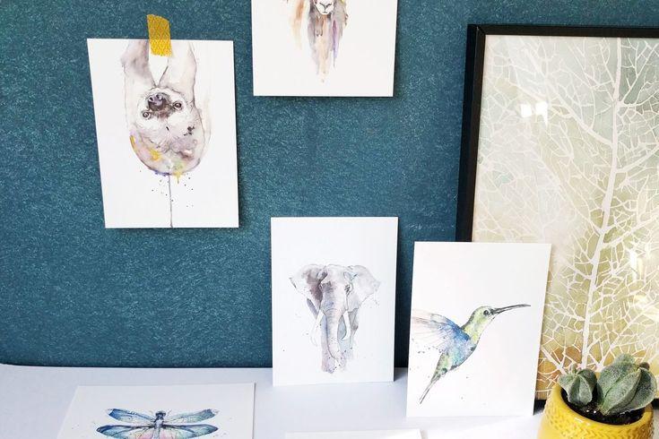 Kaarten en prints van Veer Illustratie