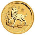 ❝✿ 2018-P Australia #Year of the Dog #1 oz Gold Lunar (Series 2) $100 #BU SK... Best http://ebay.to/2hczfqI