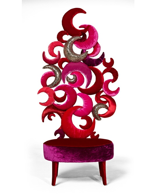 54 best chairs come in colors other than purple images on for Funky cafe furniture