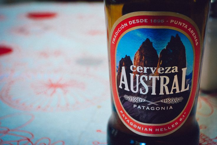 Cerveza Austral, from the Chilean Patagonia - Punta Arenas. http://www.raices.co.uk
