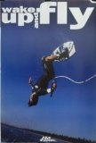 No Fear 24×36 Wake Up And Fly Poster 1998 WakeBoarding Wakeboard
