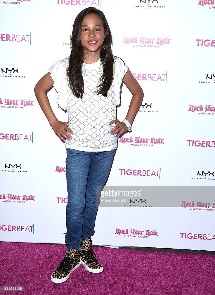 Breanna Yde arrives at the Tiger Beat's Pre-Party Around FOX's Teen Choice Awards at HYDE Sunset: Kitchen + Cocktails on July 28, 2016 in West Hollywood, California.