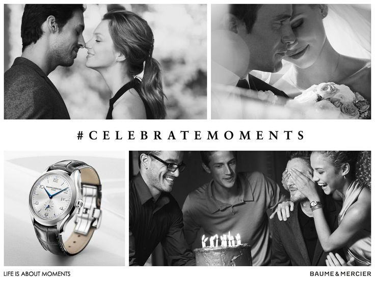 Hashtag #celebratemoments and share your story and photos on our Facebook, Twitter or Instagram page for a chance to win your own Baume & Mercier Clifton 10052 watch.    **Don't forget to validate your submission by accepting the Participation Rules using #IacceptTC! They can be accessed in full here: